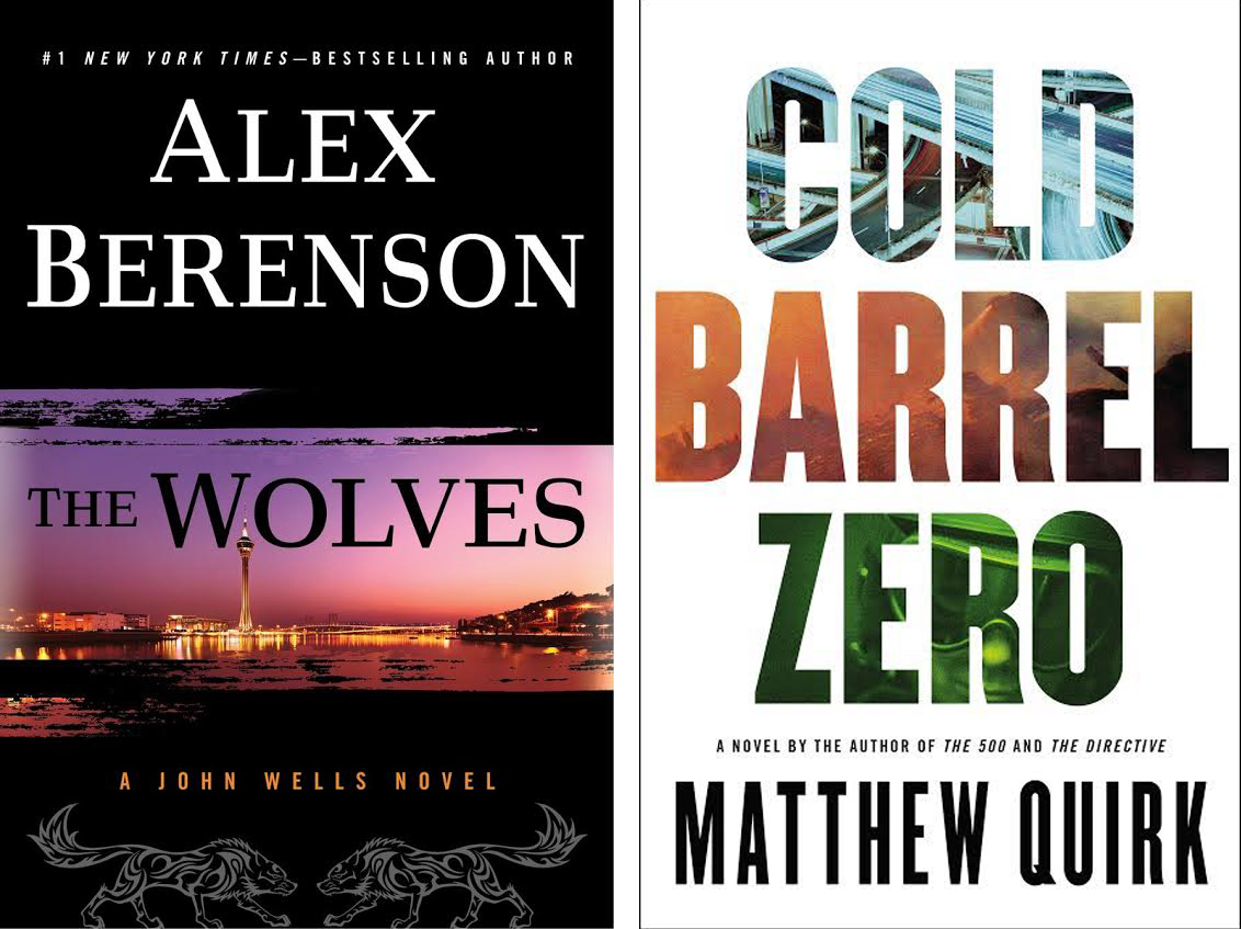 Joint Book Launch: Cold Barrel Zero by Matthew Quirk and The Wolves by Alex Berenson