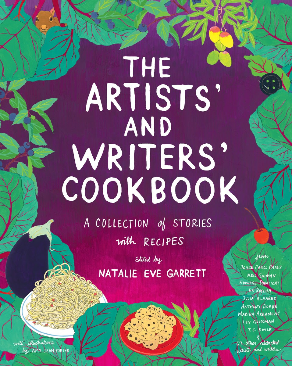 Book Launch: The Artist's and Writers' Cookbook edited by Natalie Eve Garrett in conversation with contributors Lev Grossman and Elissa Schappell