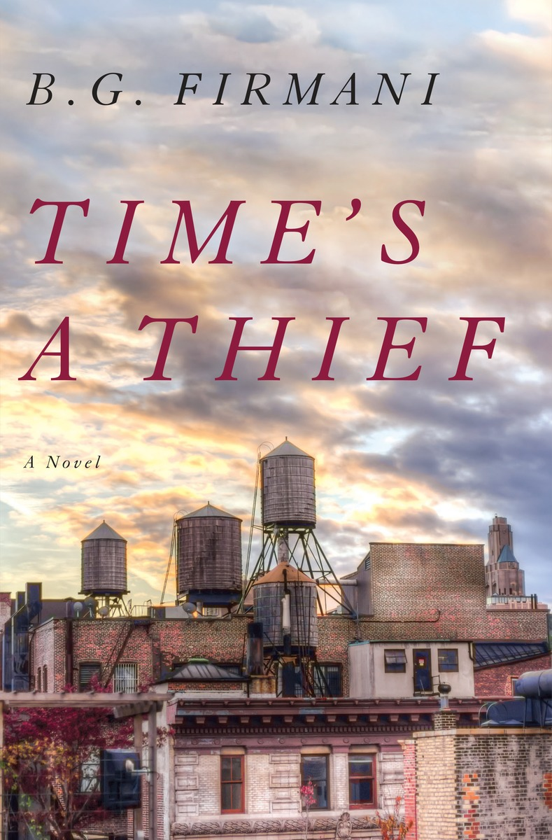 Book Launch: Time's a Thief by B.G. Firmani in Conversation with Gerry Howard