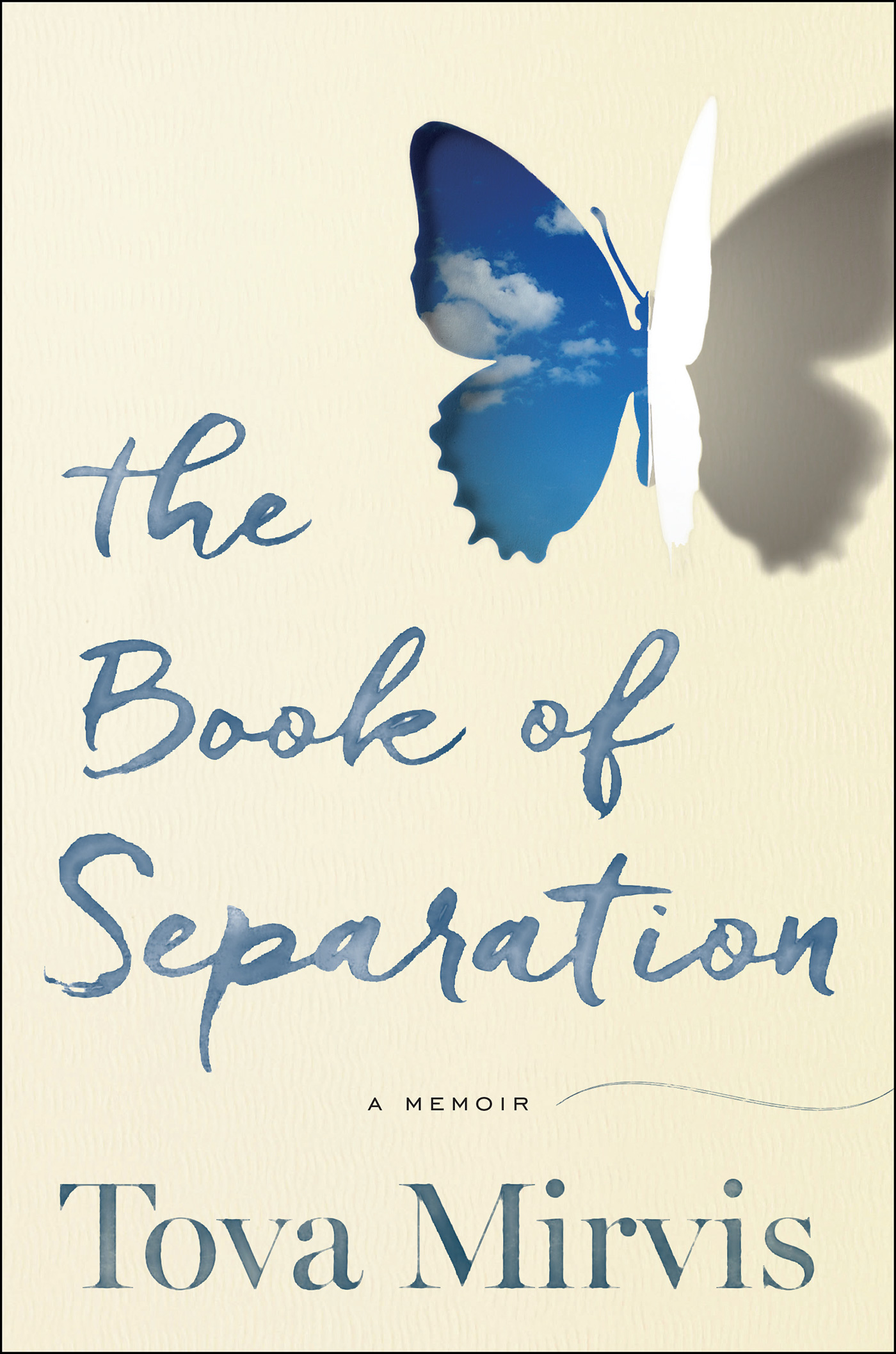 CANCELLED: Book Launch: The Book of Separation by Tova Mirvis