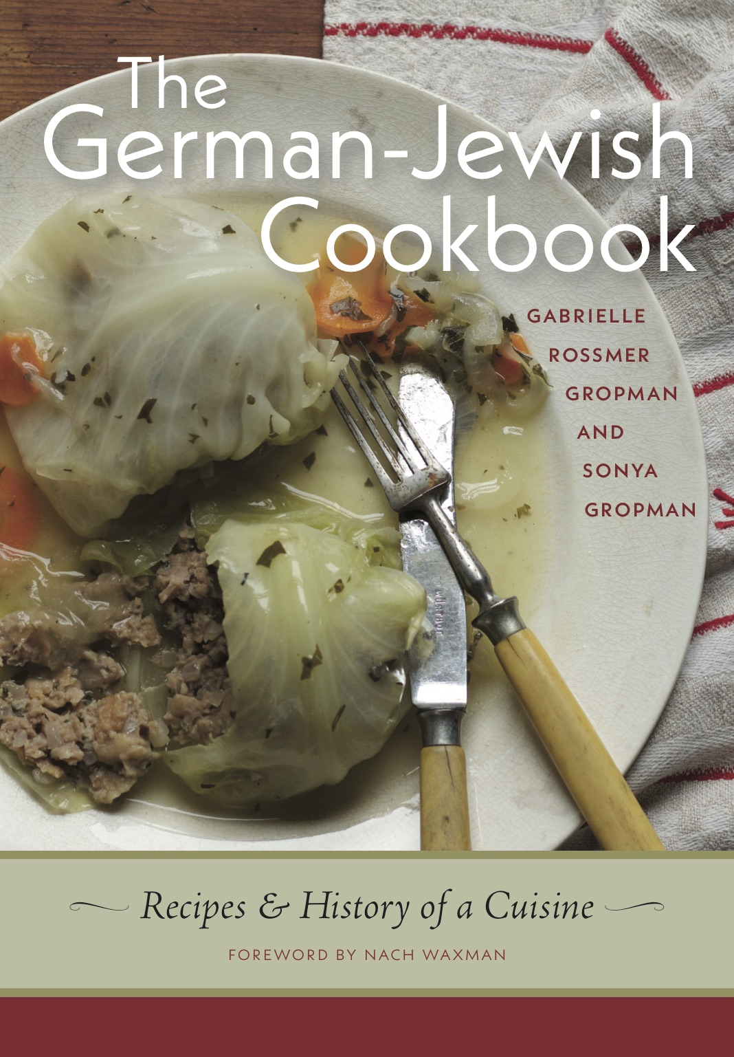 Book Launch: The German-Jewish Cookbook by Gabrielle Rossmer Gropman & Sonya Gropman — in conversation w/ Jane Ziegelman