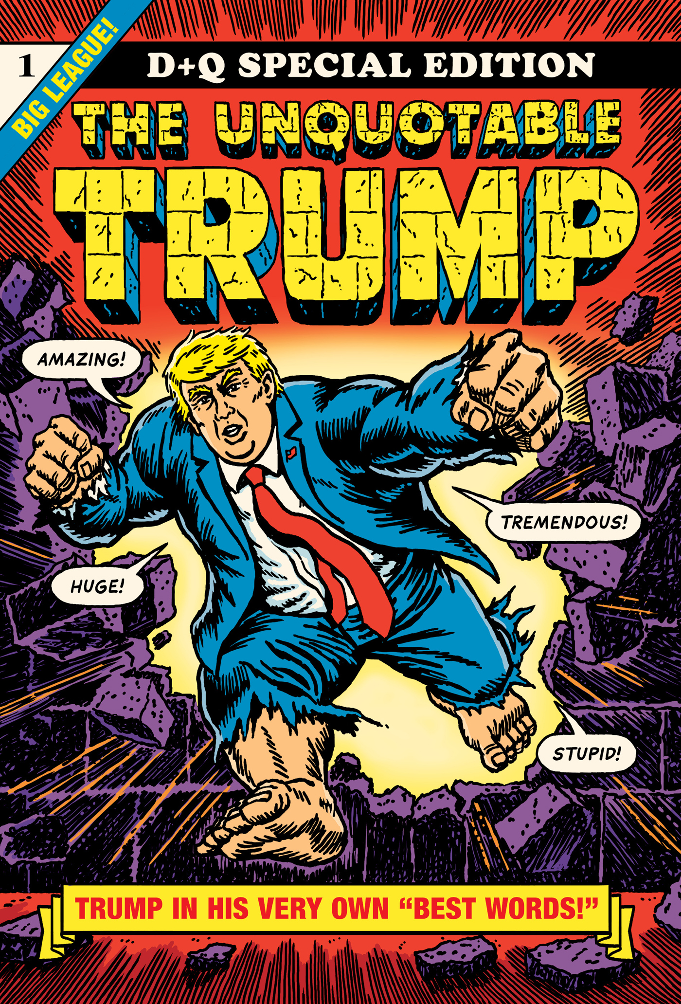 Book Launch: The Unquotable Trump by R. Sikoryak