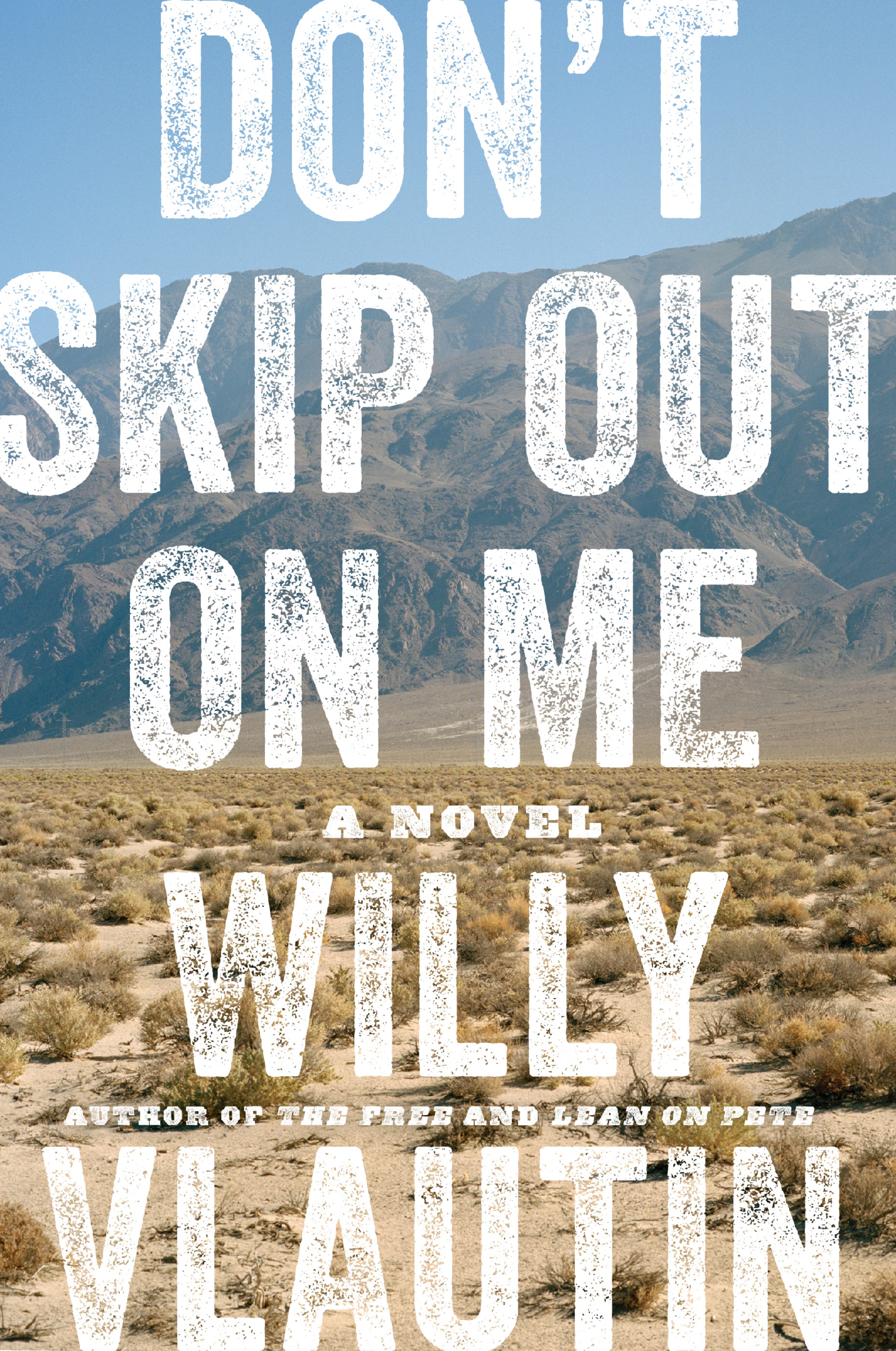Book Launch: Don't Skip Out On Me by Willy Vlautin — in conversation w/ Craig Finn of The Hold Steady