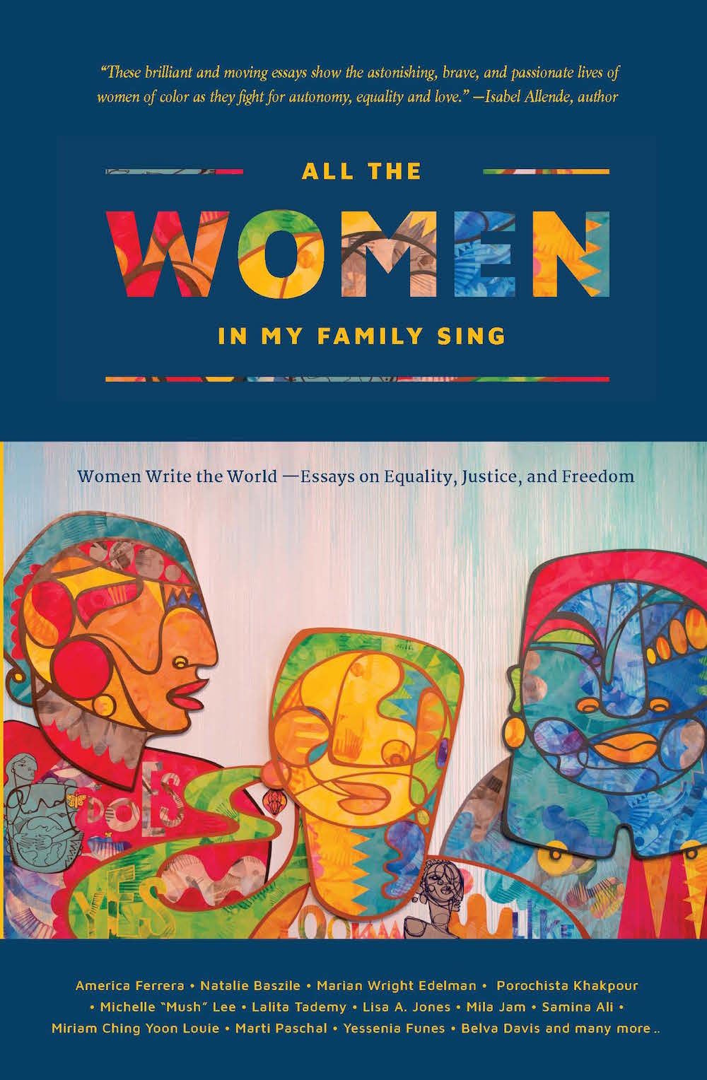 Book Launch: All the Women in My Family Sing: Women Write The World — Edited by Deborah Santana