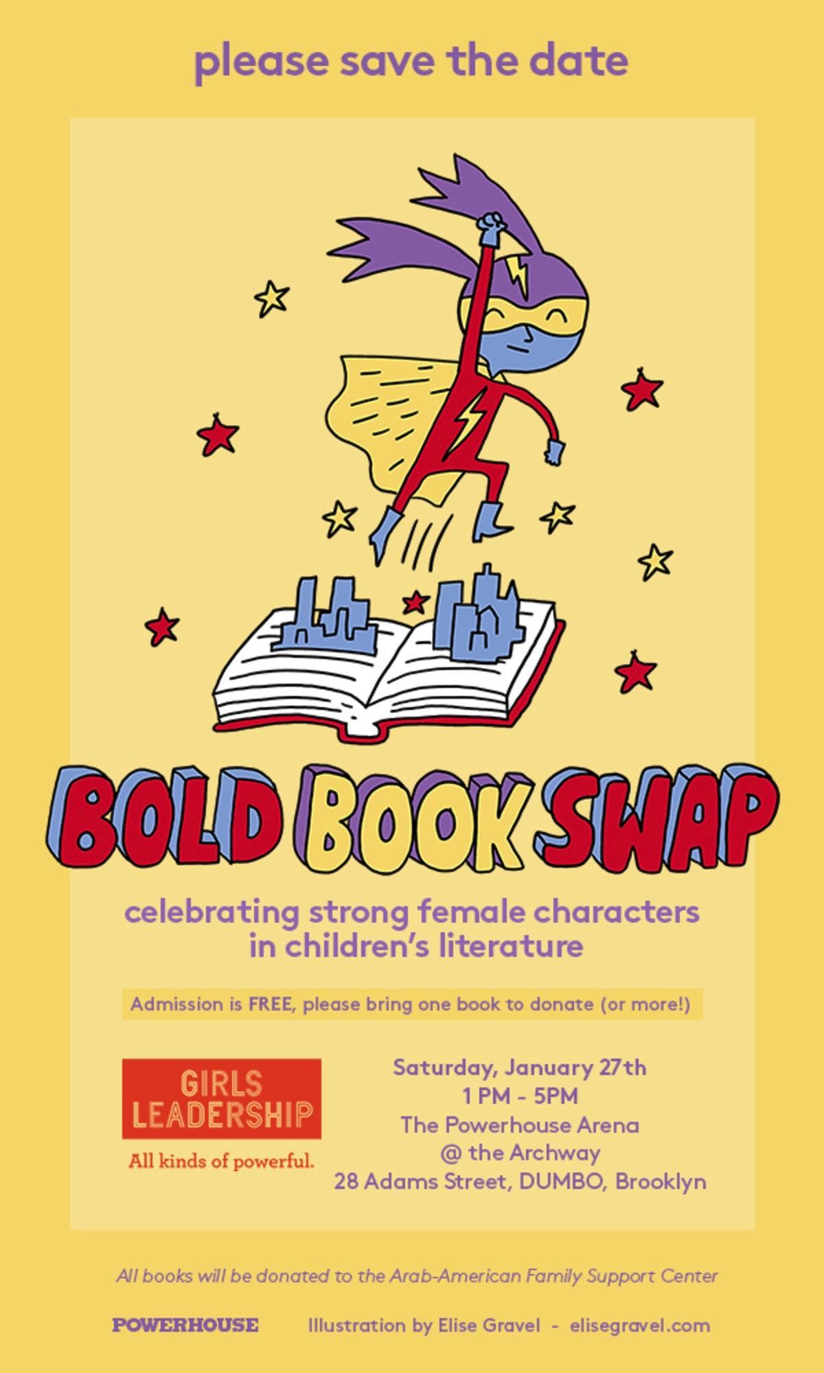 GIRLS LEADERSHIP presents: The Bold Book Swap!