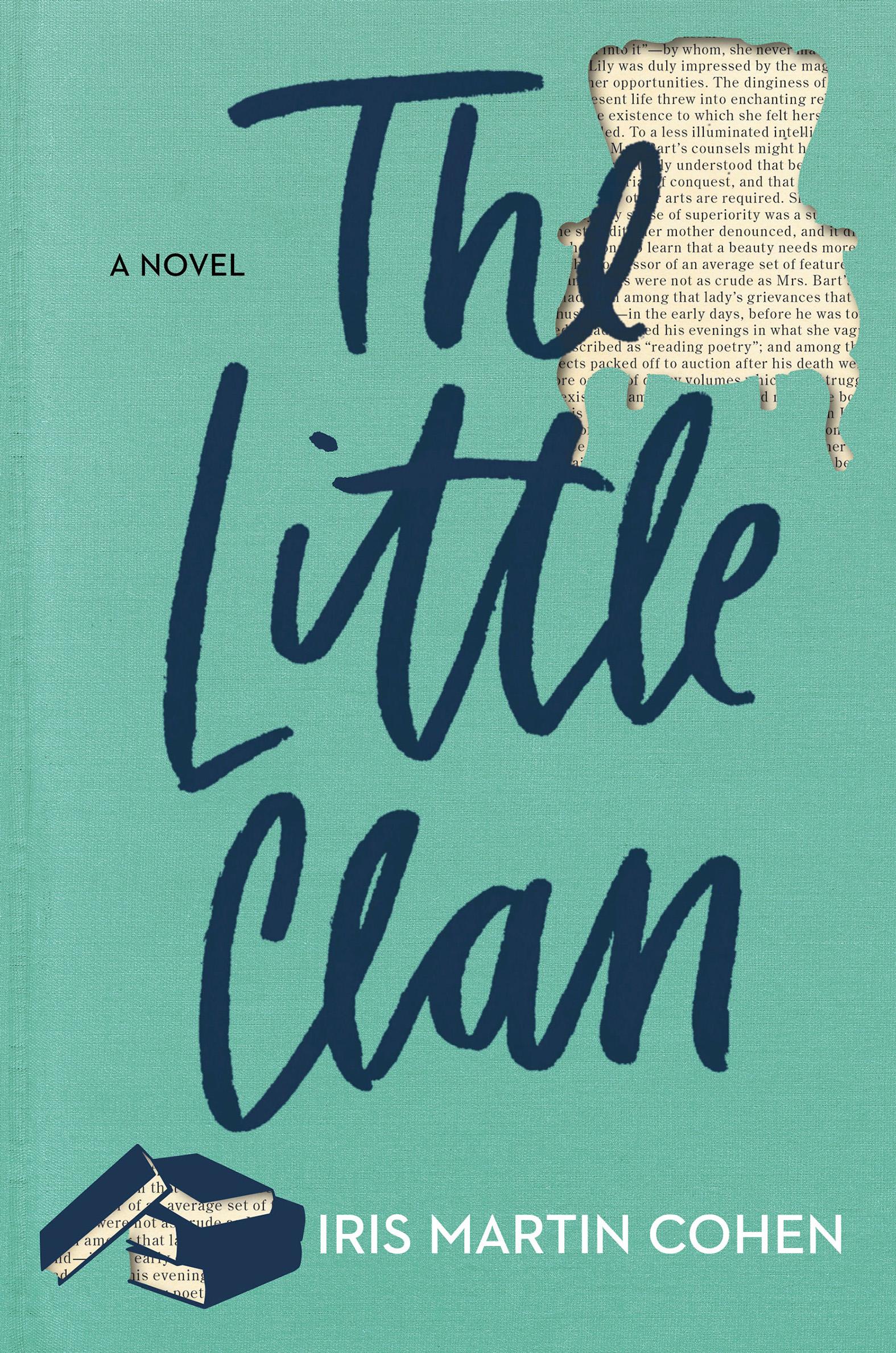 Book Launch: The Little Clan by Iris Martin Cohen — in conversation w/ Hannah Lillith Assadi