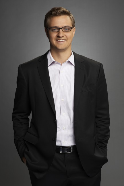 MSNBC ANCHORS -- Pictured: Chris Hayes, MSNBC Contributor -- Photo by: Virginia Sherwood/MSNBC