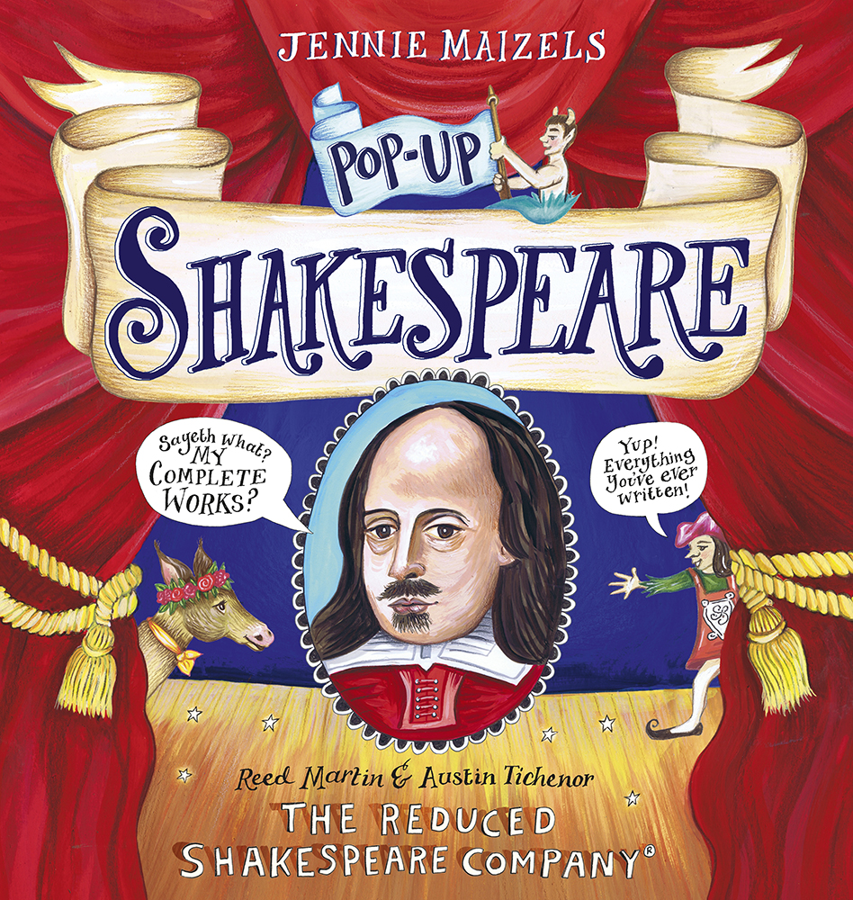 Kids' Event: Pop-Up Shakespeare by Reed Martin & Austin Tichenor