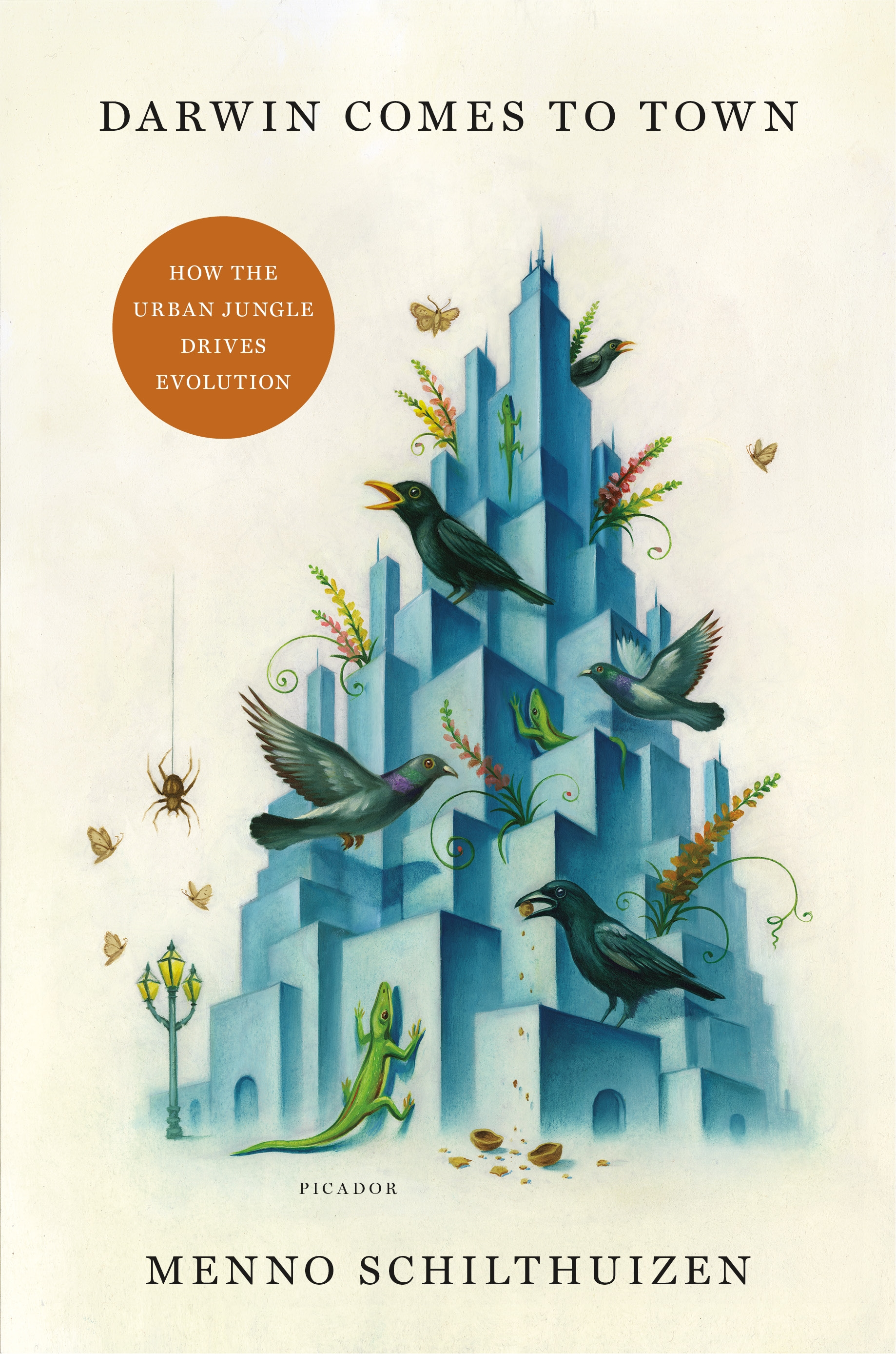 Book Launch: Darwin Comes to Town: How the Urban Jungle Drives Evolution by Menno Schilthuizen