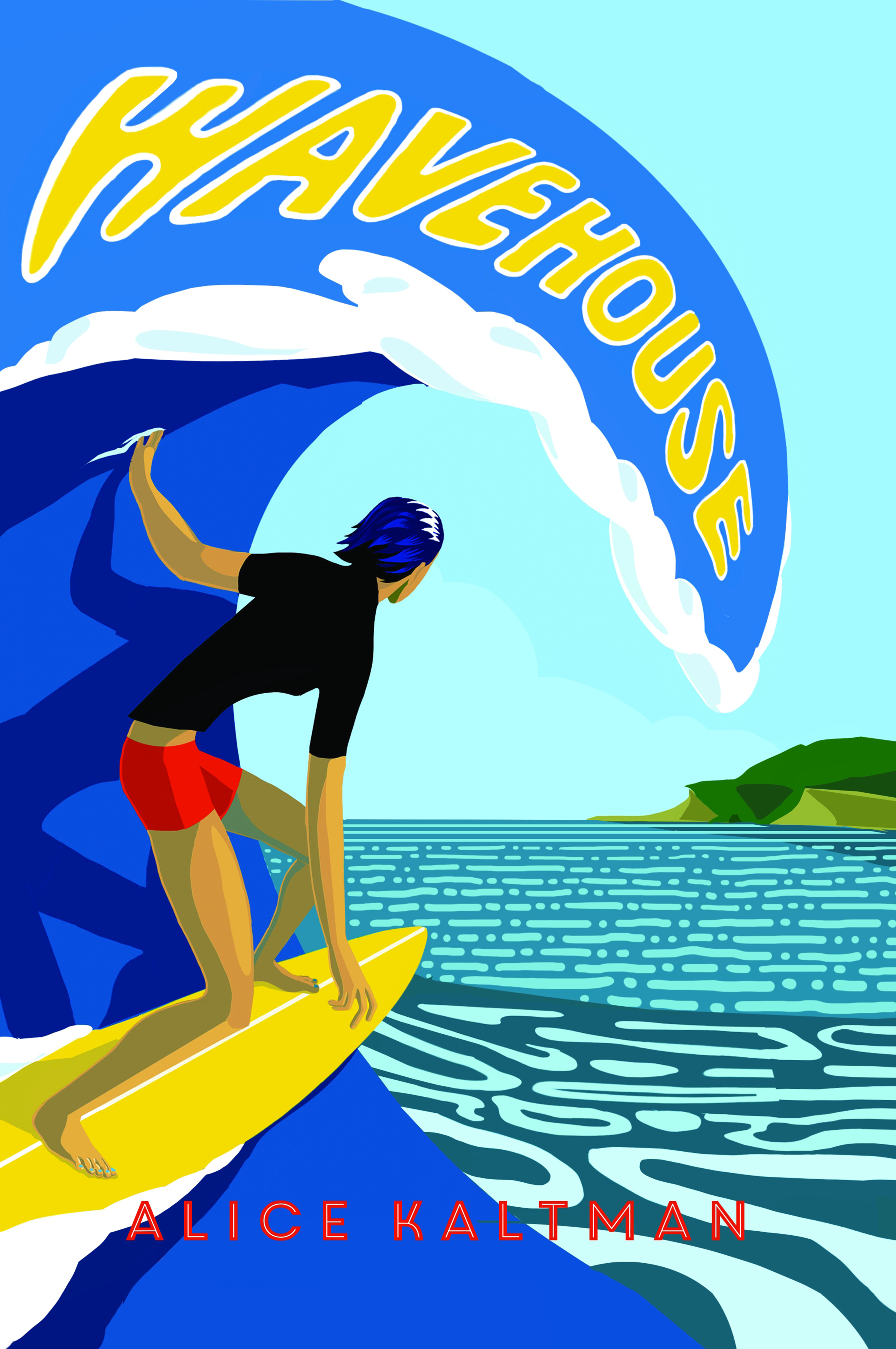 Book Launch: Wavehouse by Alice Kaltman