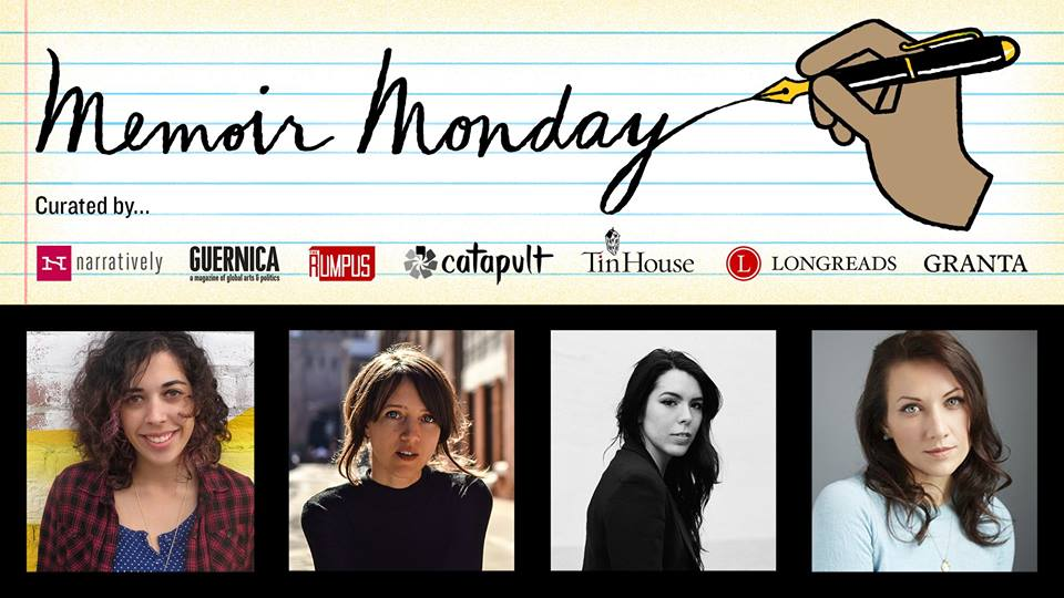 Memoir Monday: Featuring Melissa Febos, T Kira Madden, Jaya Saxena, & Tyler Wetherall