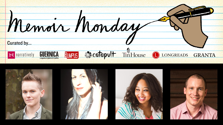 Memoir Monday: Featuring Sandra Allen, Nuar Alsadir, Minda Honey, & Tom McAllister — Hosted by Lilly Dancyger