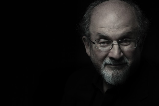 FINAL AUTHOR PHOTO - Salman Rushdie © Randall Slavin