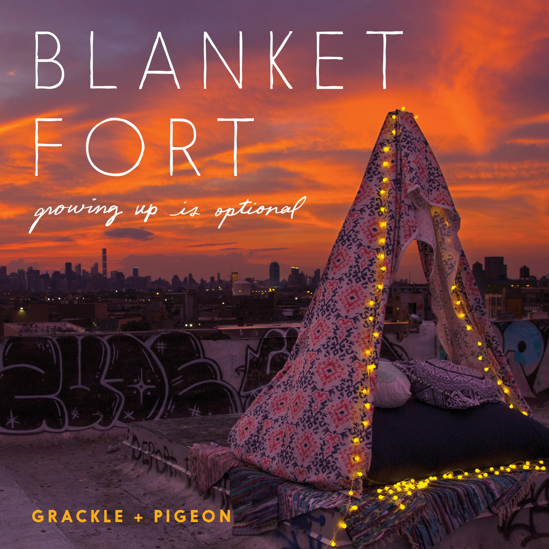 Immersive Book Launch: Blanket Fort by Grackle + Pigeon