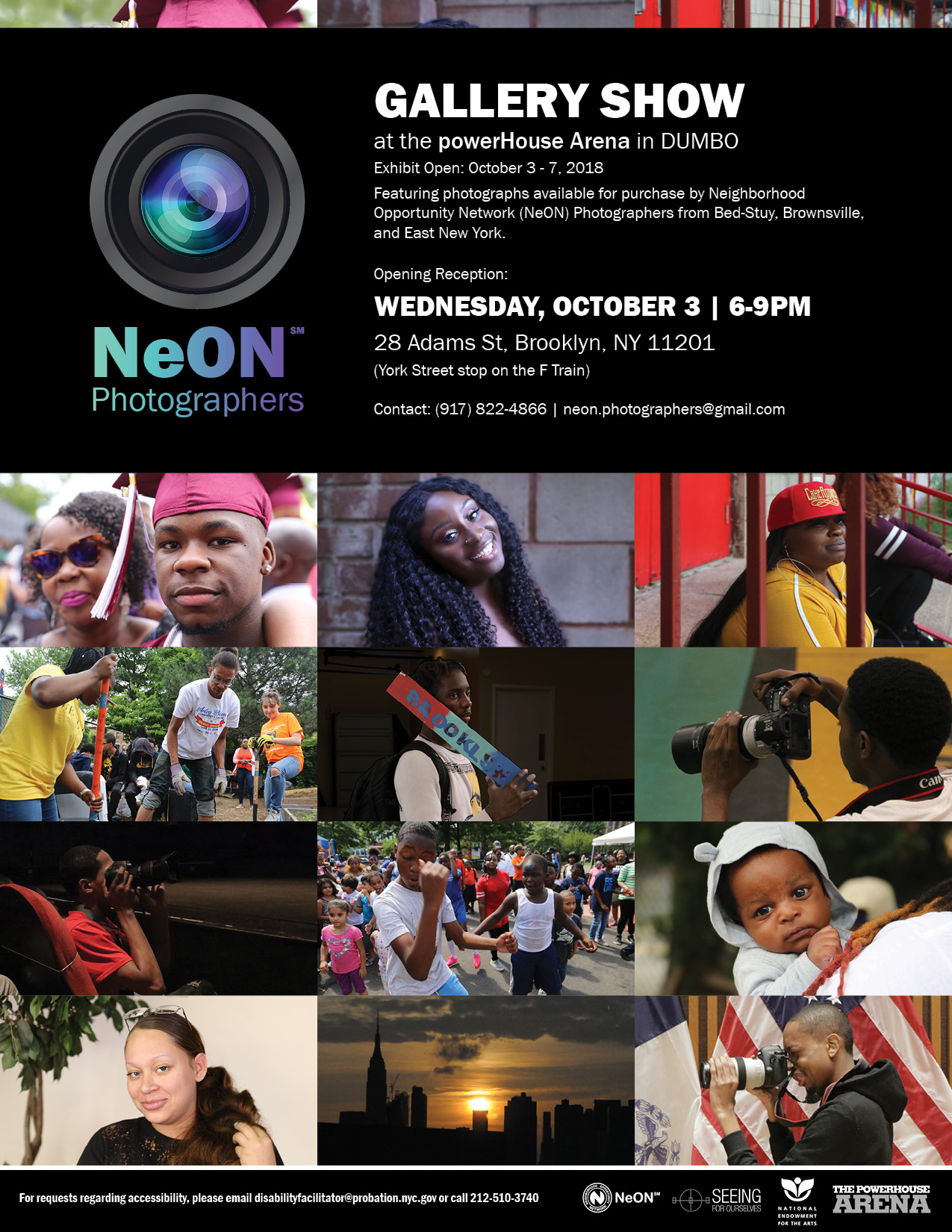 Opening Reception: The NeON Photographers Exhibit