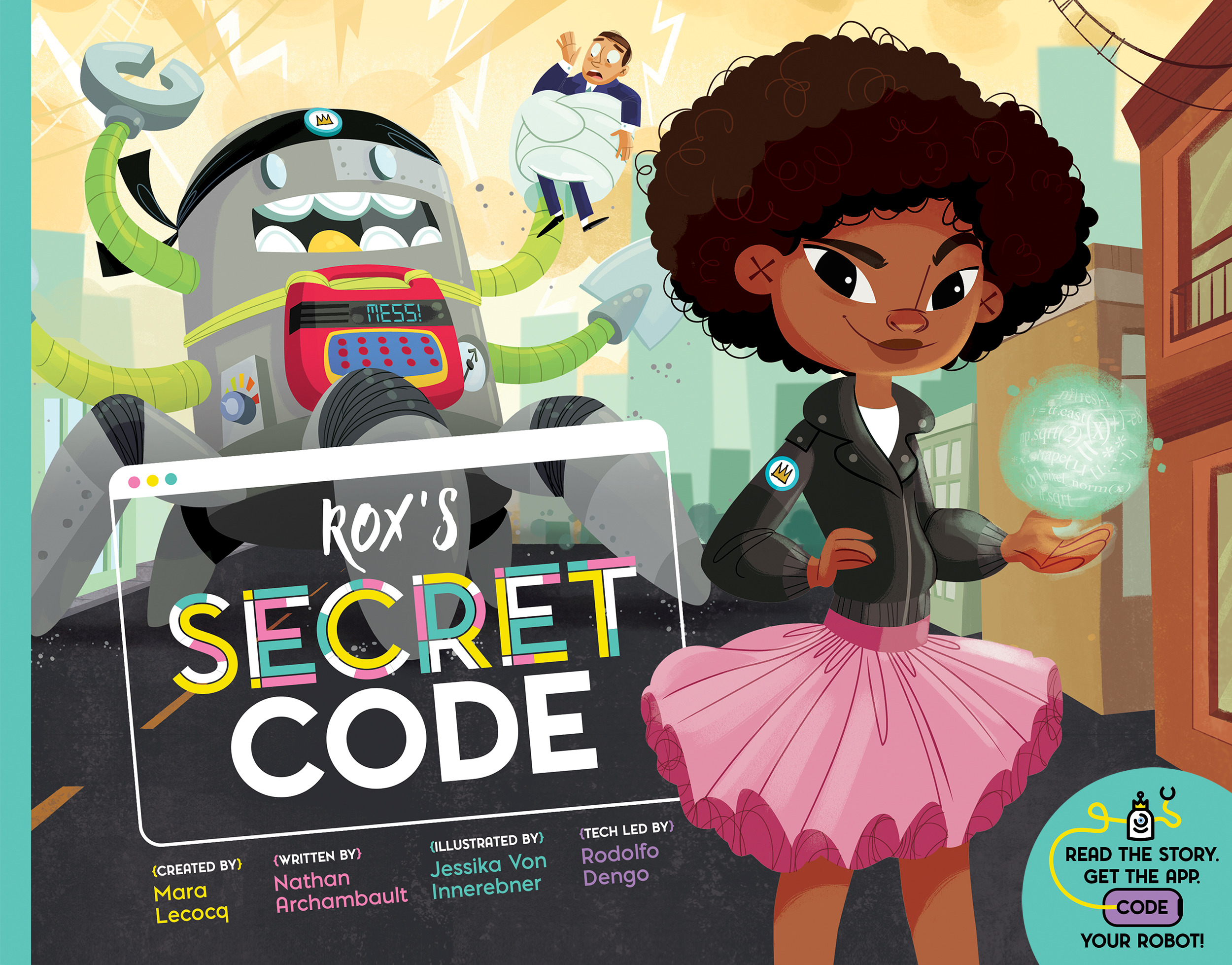 Book Launch: Rox's Secret Code by Mara Lecocq and Nathan Archambault