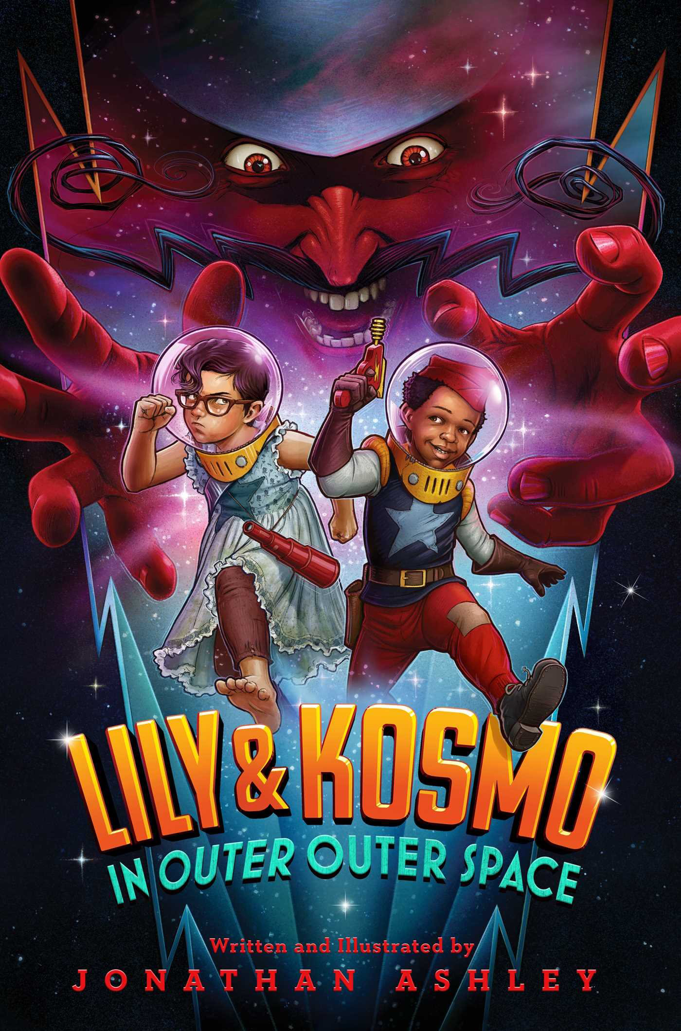 Book Launch: Lily & Kosmo in Outer Outer Space by  Jonathan Ashley