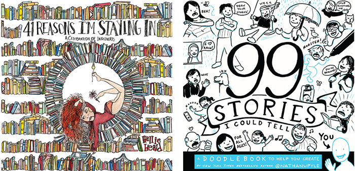 Joint Book Launch: 41 Reasons I'm Staying In by Hallie Heald and 99 Stories I Could Tell by Nathan Pyle