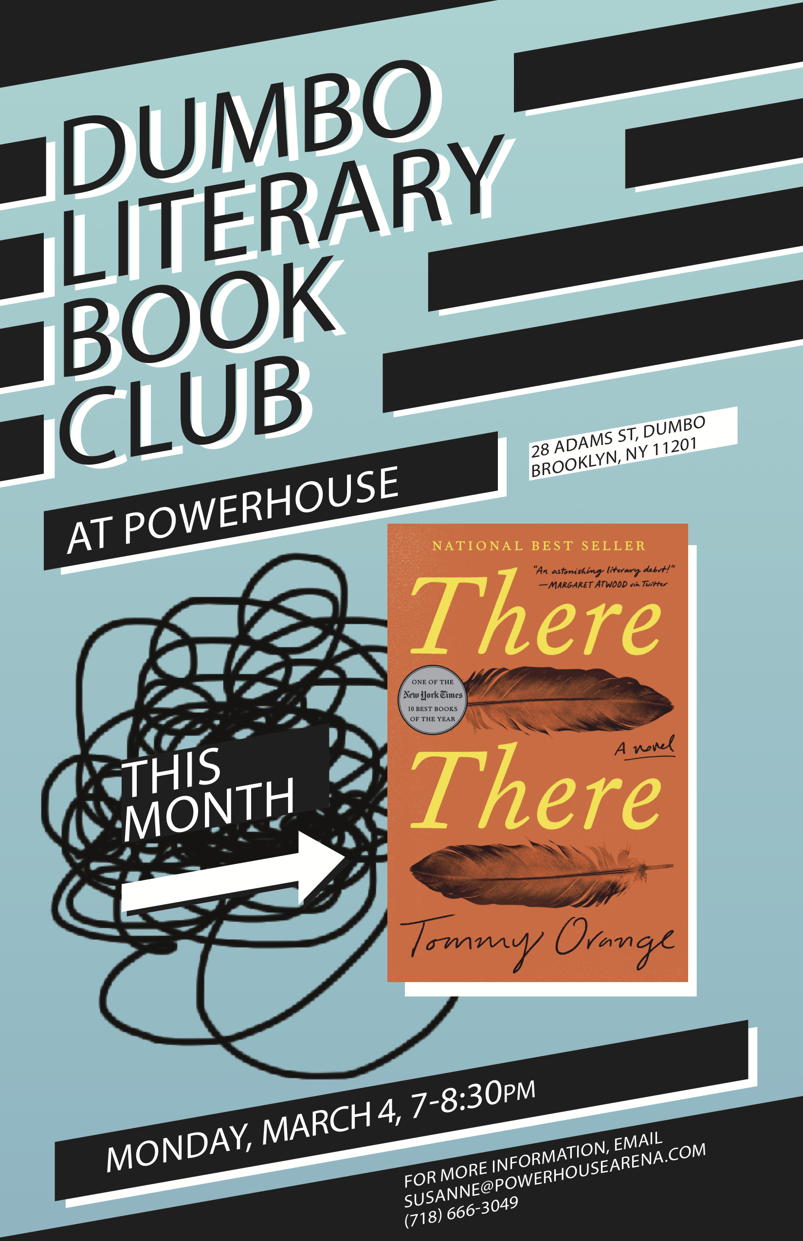 Dumbo Lit Book Club: There There by Tommy Orange