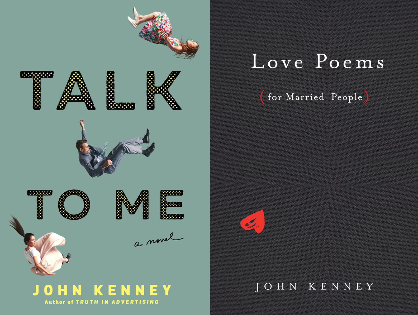 Valentine's Day Book Launch: Love Poems for Married People and Talk To Me by John Kenney