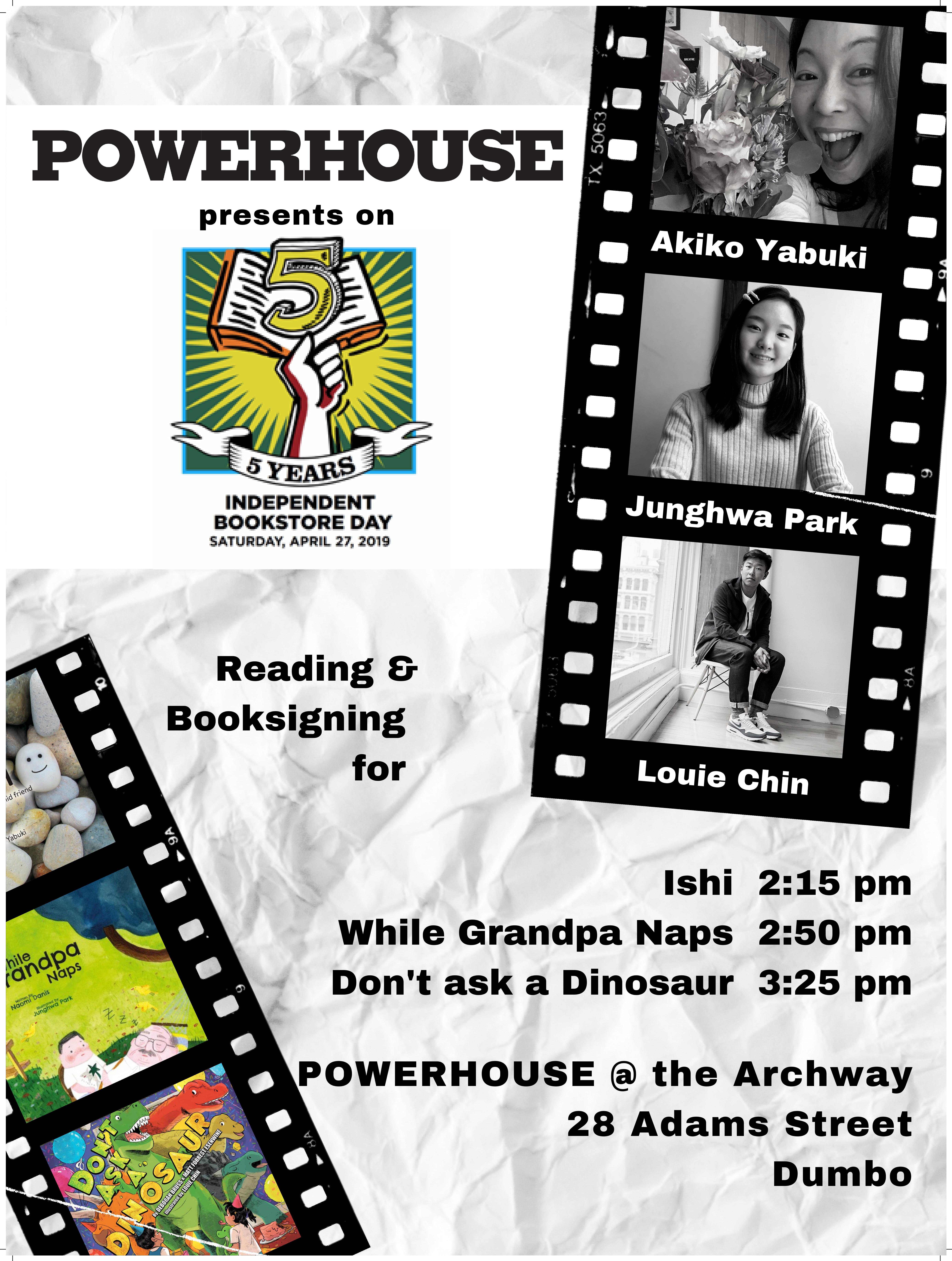 Independent Bookstore Day Events!