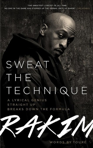 Book Launch: Sweat the Technique by Rakim
