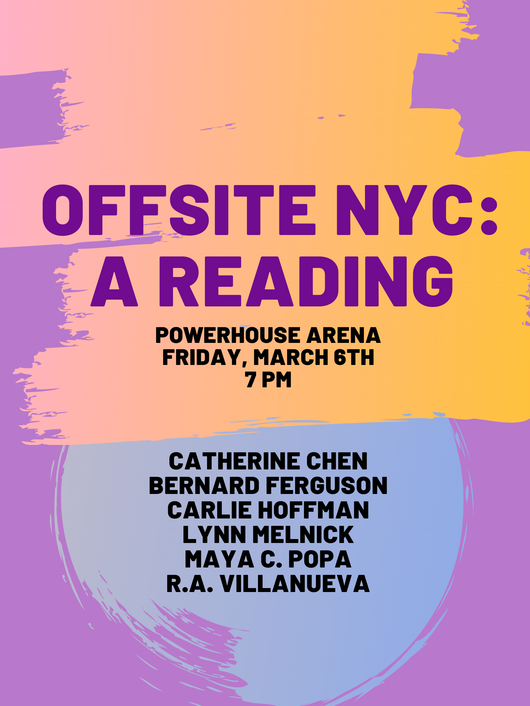 Offsite NYC: A Reading