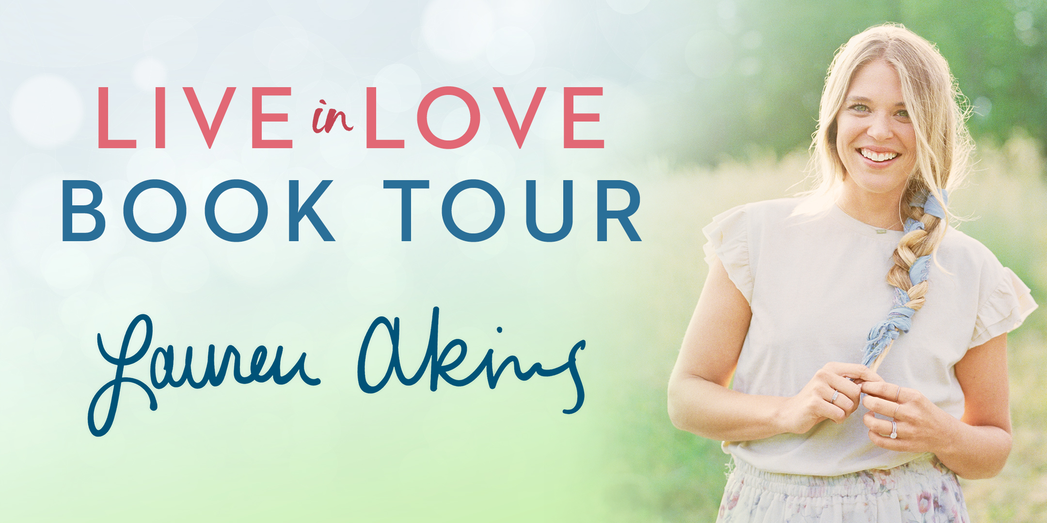 Book Launch: Live in Love by Lauren Akins