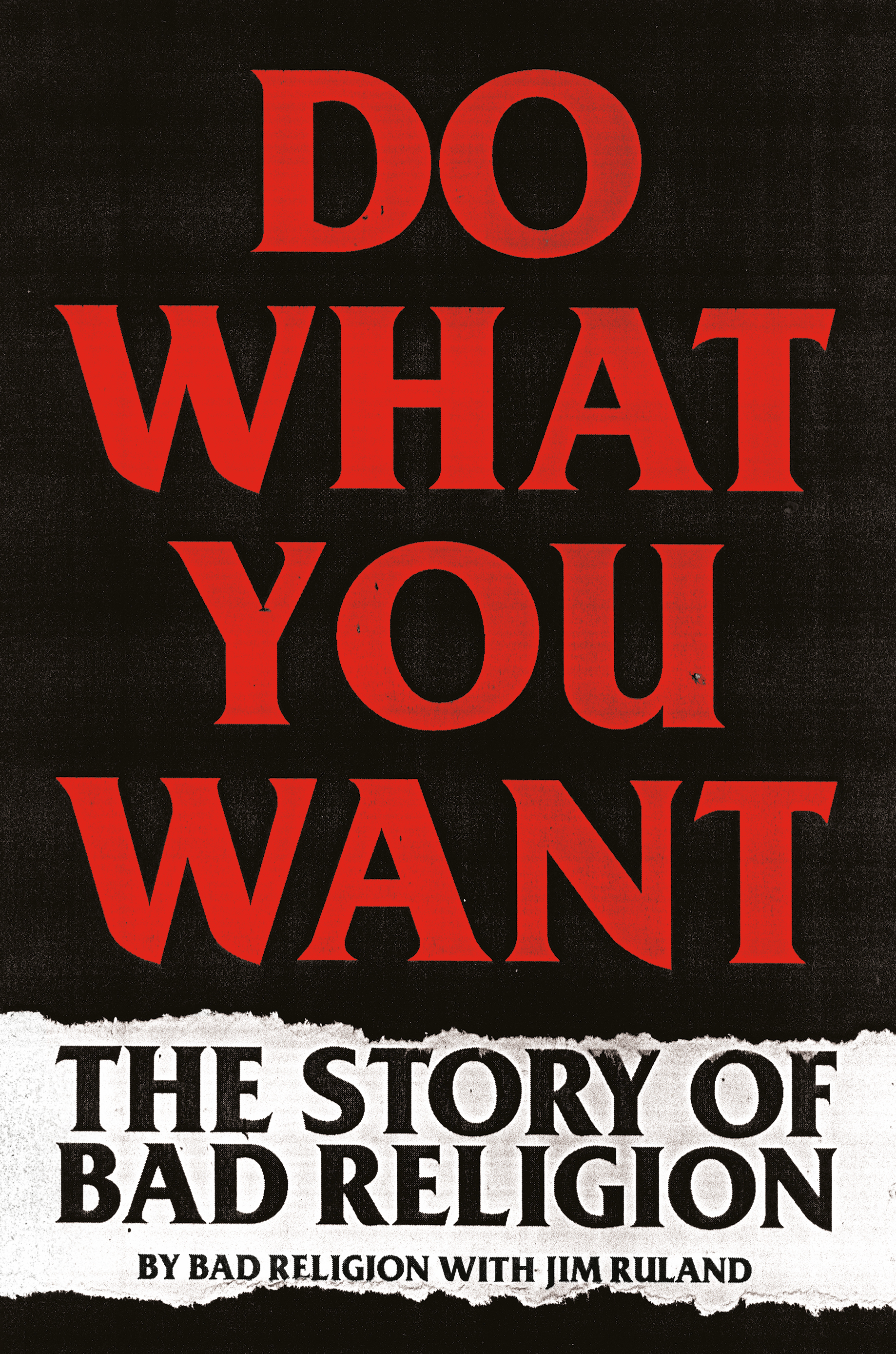 Virtual Book Launch: Do What You Want by Bad Religion and Jim Ruland