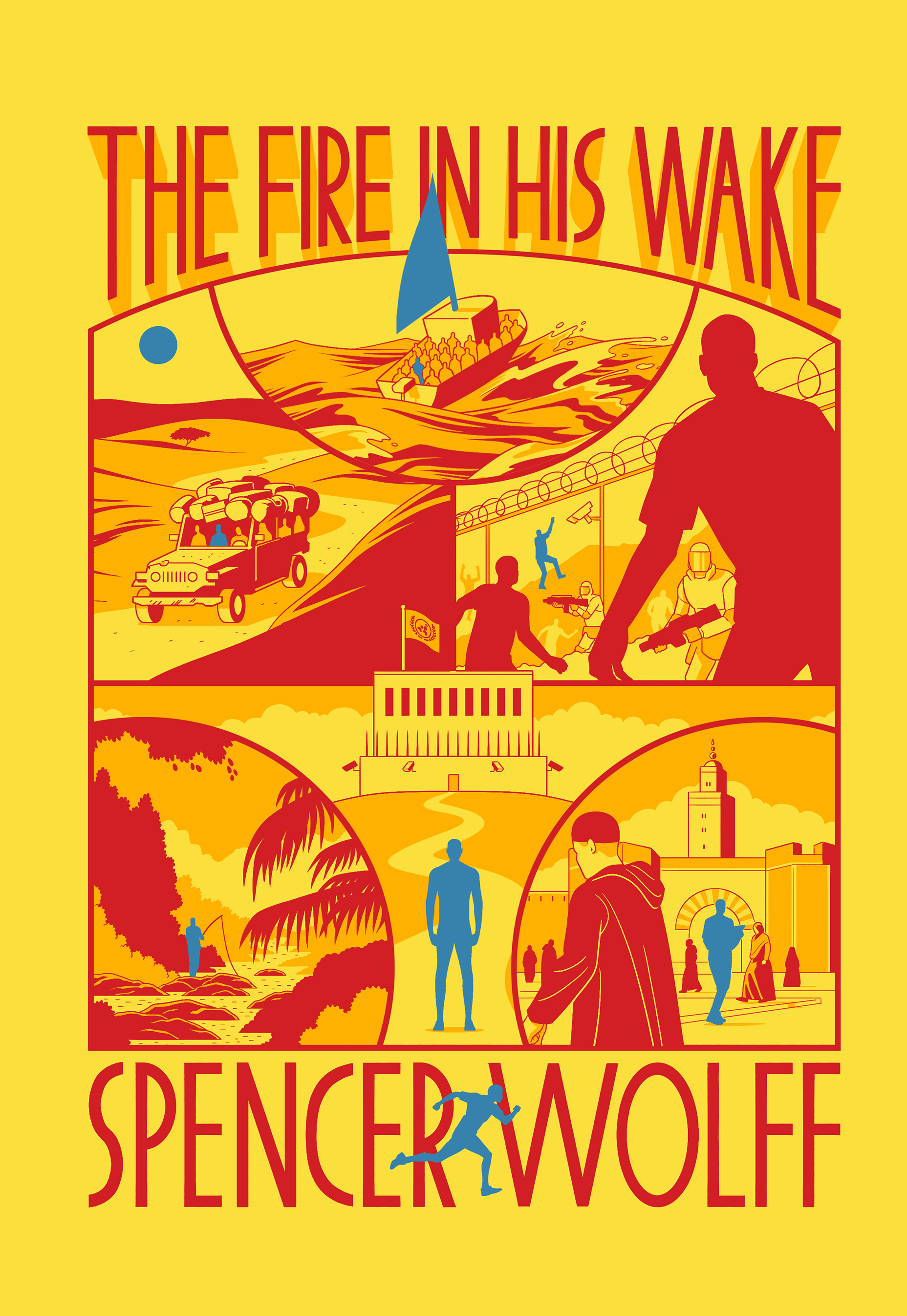 Virtual Book Launch: The Fire in His Wake by Spencer Wolff in conversation with Nyuol Lueth Tong