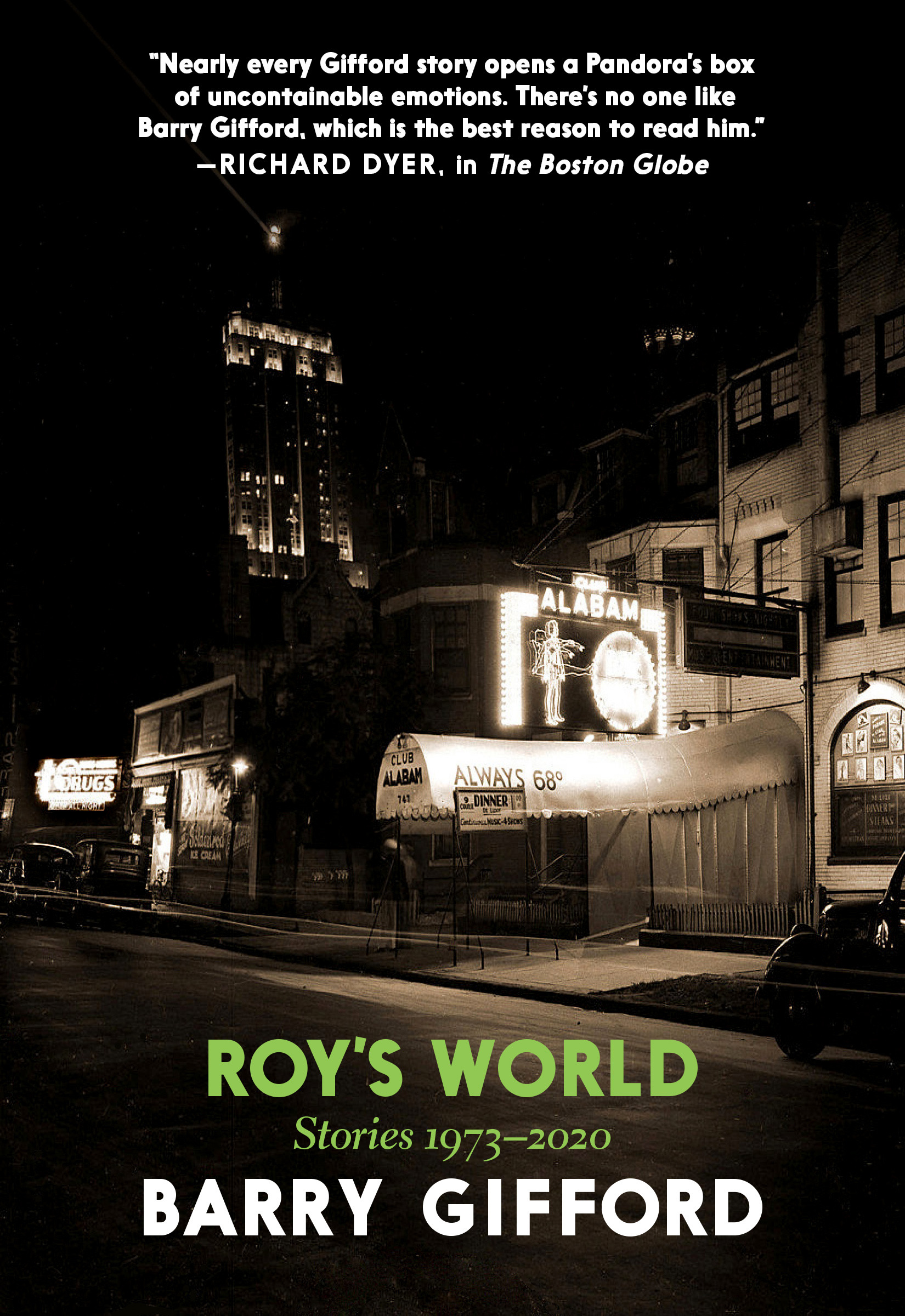 Virtual Book Launch: Roy's World by Barry Gifford in conversation with Willy Vlautin
