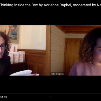 Adrienne Raphel and Nadja Spiegelman 1
