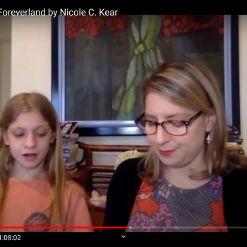 Nicole C. Kear & daughter read from Foreverland
