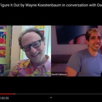 Wayne Koestenbaum & David Velasco