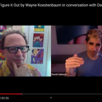 Wayne Koestenbaum and David Velasco