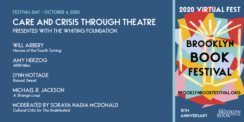 BROOKLYN BOOK FESTIVAL: Care and Crisis through Theatre presented by the Whiting Foundation