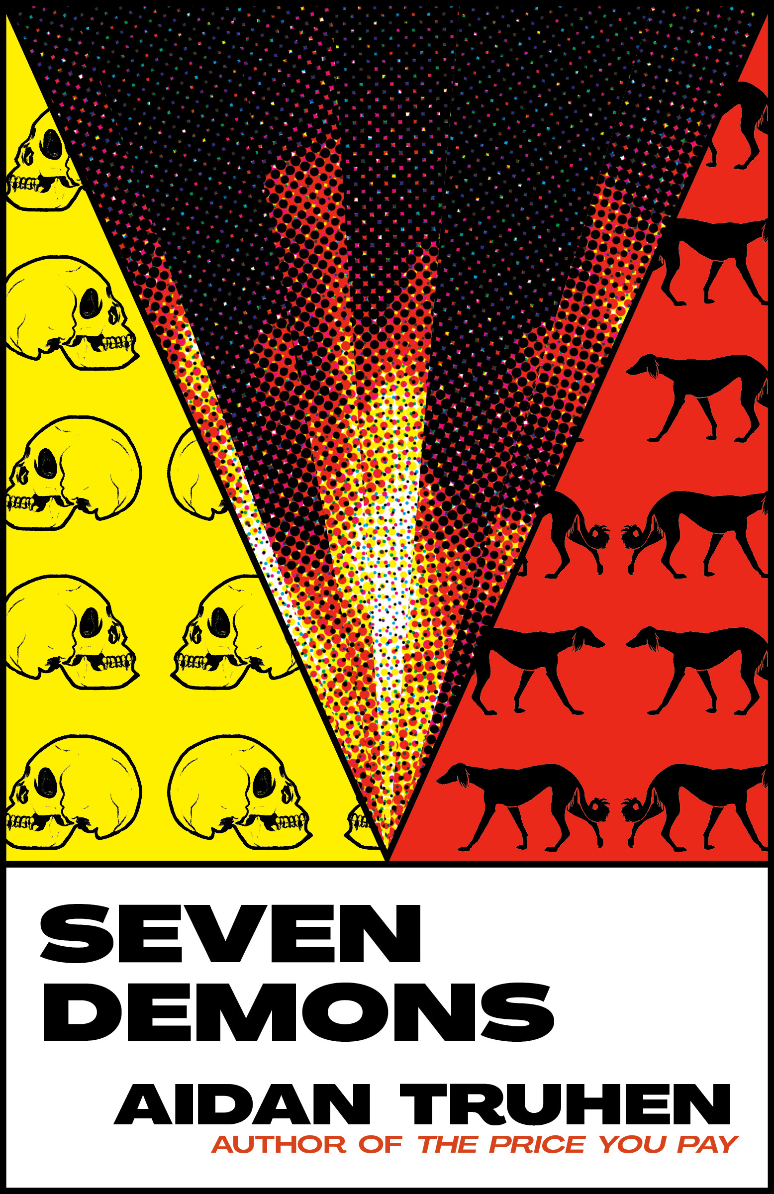 Virtual Book Launch: Seven Demons by Aidan Truhen