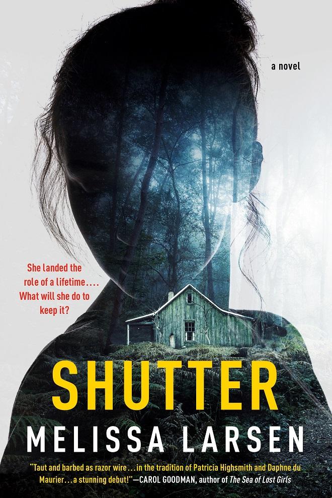 Virtual Book Launch: Shutter by Melissa Larsen in conversation with Mina Hamedi