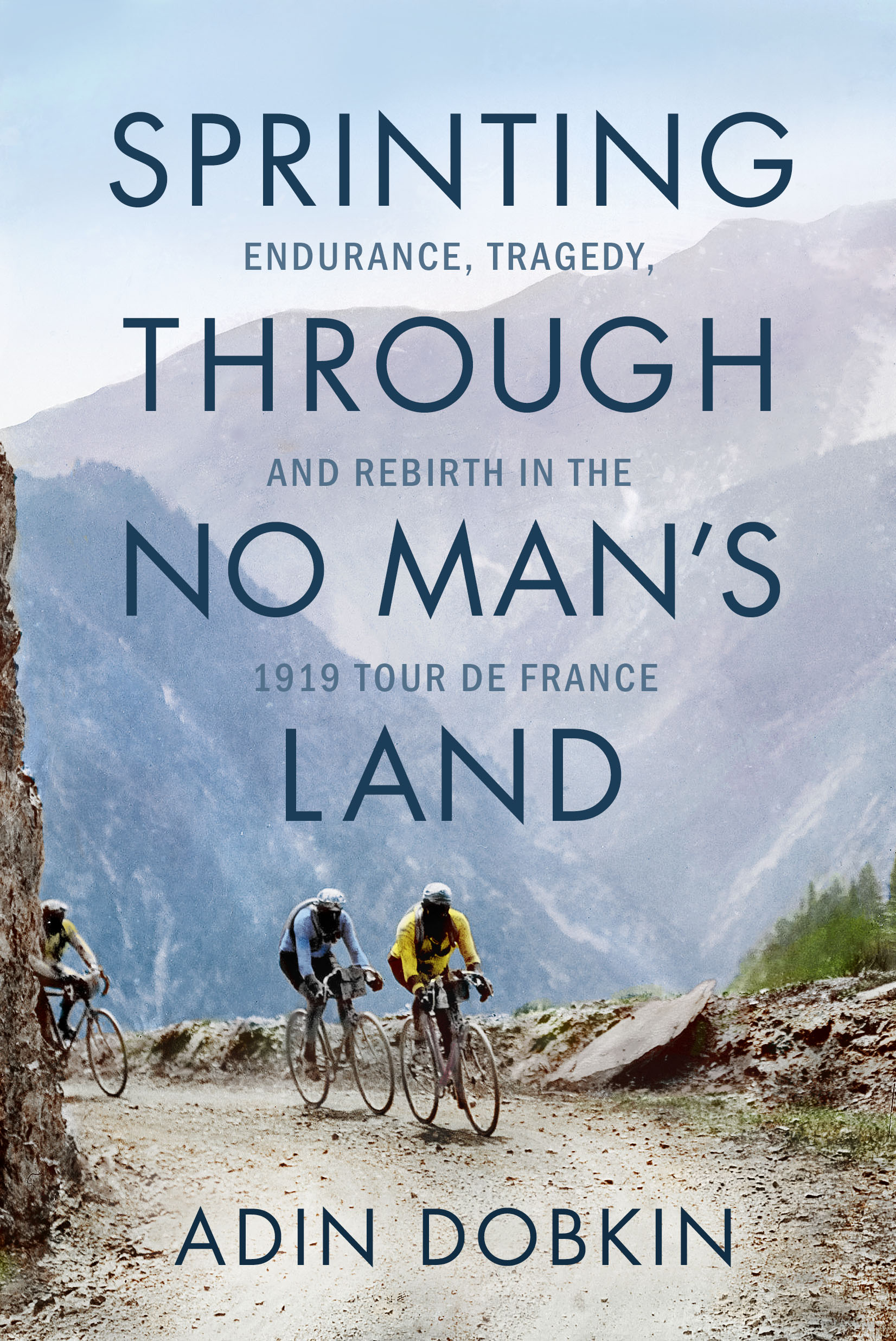 Virtual Book Launch: Sprinting Through No Man's Land by Adin Dobkin in conversation with Phil Klay