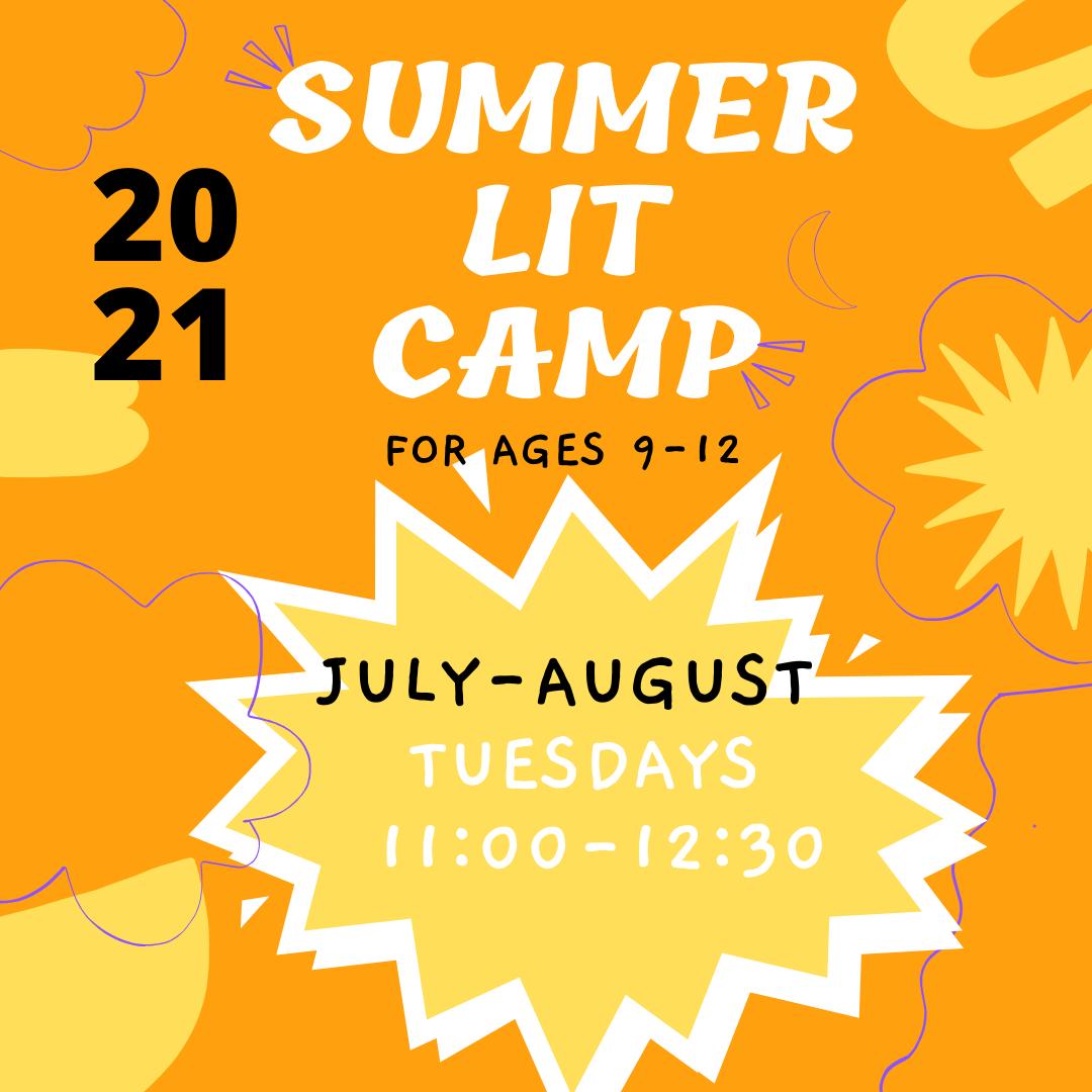 Middle Grade Summer Lit Camp
