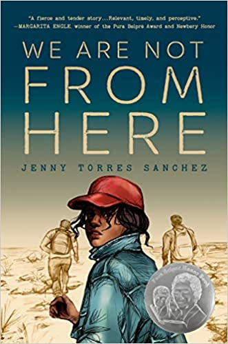 YA Book Club:  We Are Not From Here by Jenny Torres Sanchez