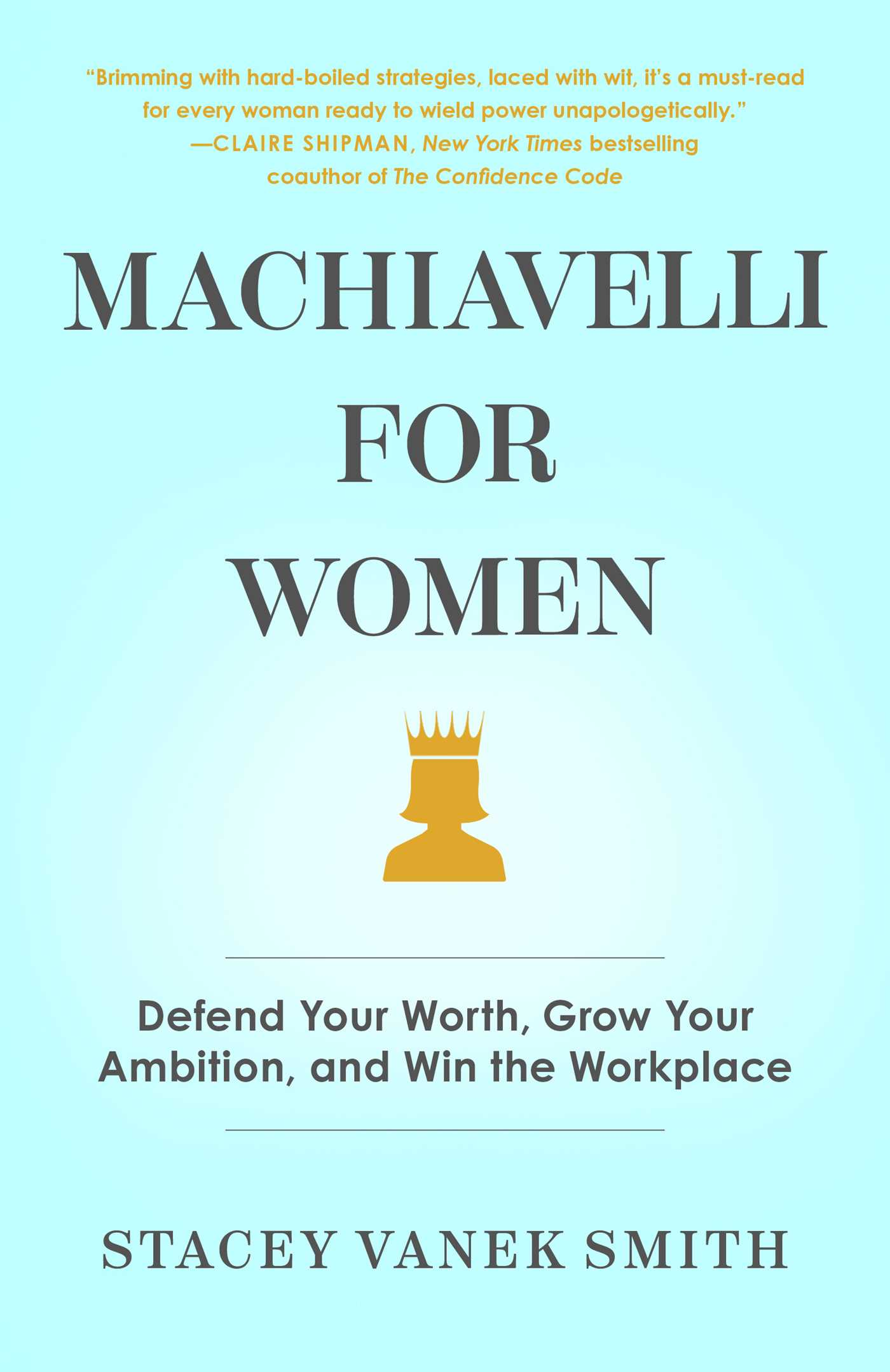 Book Launch: Machiavelli for Women by Stacey Vanek Smith in conversation with Cardiff Garcia
